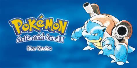 pokemon blue version game boy games nintendo