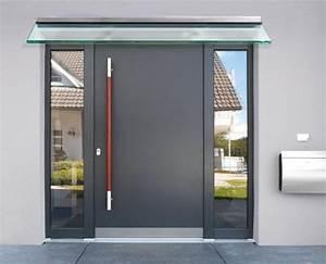 Glasvordach Mit Seitenteil : neuheiten rund um die haust r neu freitragendes vordach canopy cloud ~ Buech-reservation.com Haus und Dekorationen