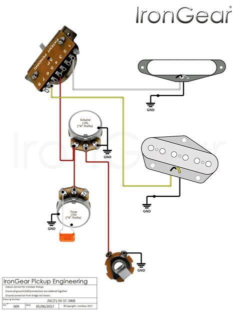 telecaster wiring diagram with bridge humbucker nashville