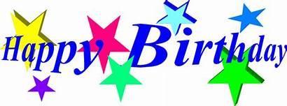 Birthday Happy Stars Words Transparent Holiday Born