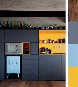 Meuble Bleu Canard : 1001 id es pour d cider quelle couleur pour les murs d 39 une cuisine adopter les int rieurs en ~ Teatrodelosmanantiales.com Idées de Décoration