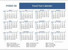 20172018 Fiscal Calendar UK Template Free Printable