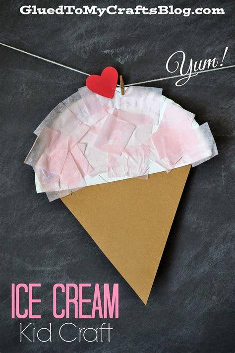 summer ice cream kid craft crafts  kids