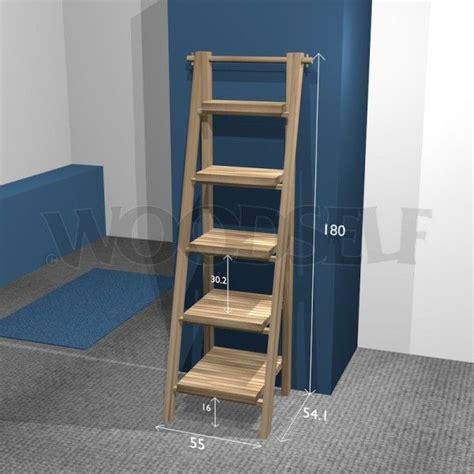 ladder shelf woodworking plan   home diy furniture plans diy woodworking