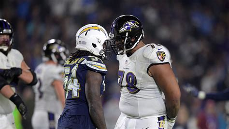 chargers  ravens nfl playoffs game time tv schedule