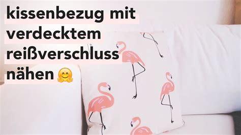 Kissenbezug Nähen Mit Reißverschluss by Kissen N 228 Hen 50x50 Home Ideen