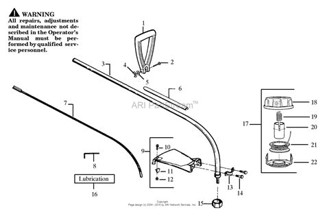 Poulan Hp30t Gas Trimmer Parts Diagram For Cutting Head