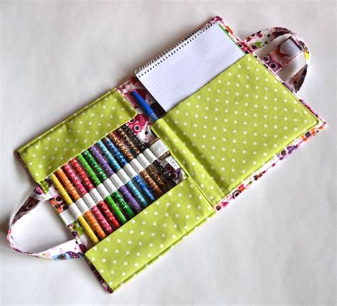 7 Organizer Sewing Patterns For Art Supplies