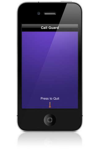 Blank iPhone Call Screen