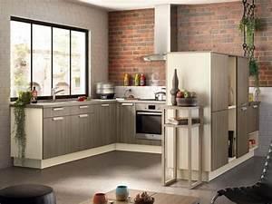 Cuisine Style Industriel Bois : 15 cuisines bois au top de la tendance 2013 ~ Teatrodelosmanantiales.com Idées de Décoration