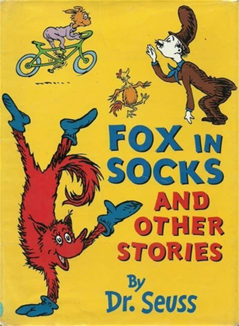 fox  socks   stories  dr seuss