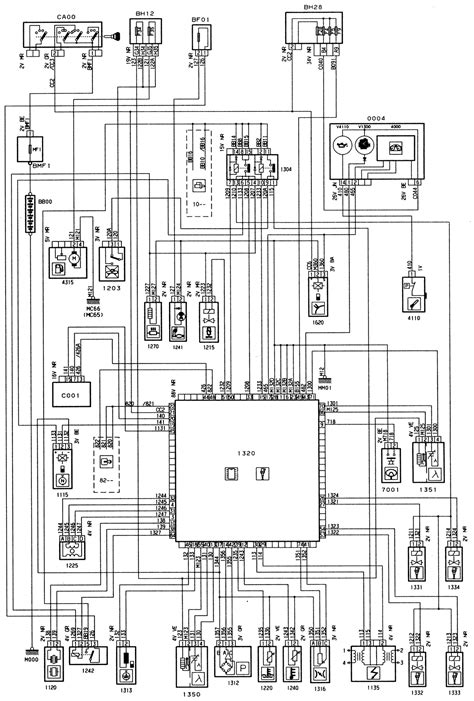 C4 Fuel Wire Diagram by Peugeot 306 Engine Type Tu3jp I F L4 Injection