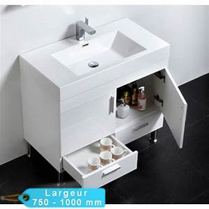 meuble de salle de bain simple vasque a poser klassyk With salle de bain design avec poser une vasque de salle de bain