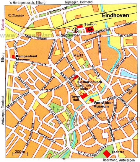 eindhoven map tourist attractions traveling