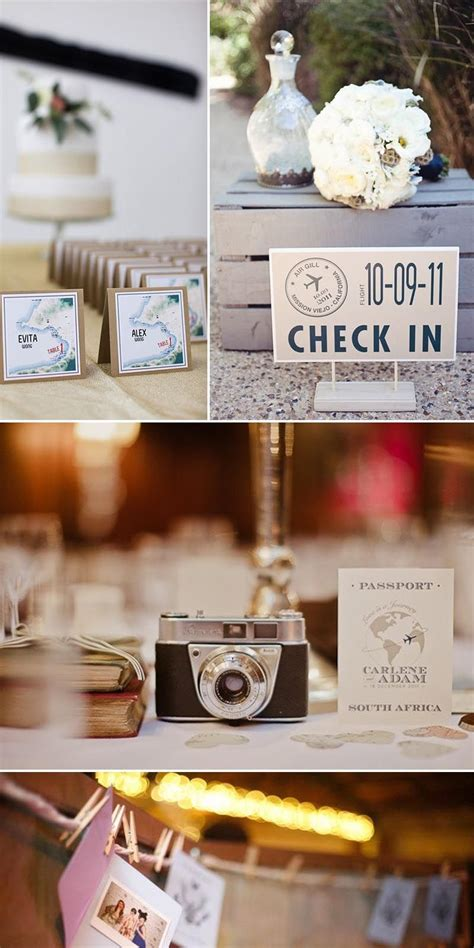 travel themed wedding ideas yes baby daily theme