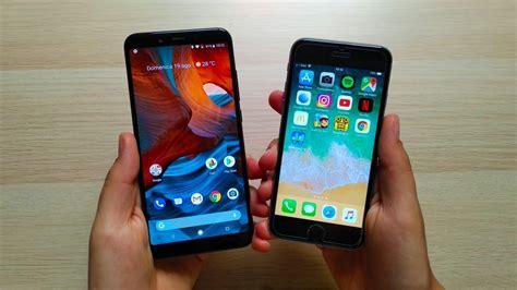xiaomi mi a2 vs iphone 6s speed test