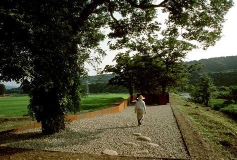 post industrial meditation park japan building  architect