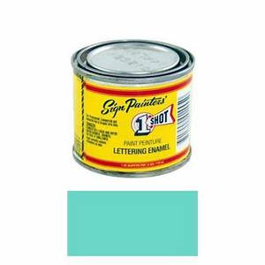 1 4 pint 1 shot aqua paint lettering enamel pinstriping With one shot lettering enamel paint