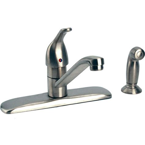 kitchen touch faucet moen 87830sl touch kitchen faucet w side spray
