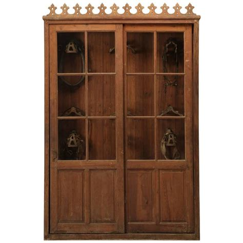 tack cabinet or potential bookcase for sale at 1stdibs