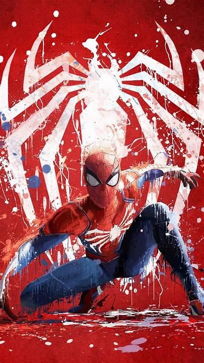 Spider Vertical Portrait Comic 4k Artwork Games