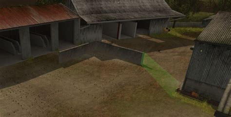 wall ls in wall 10 m wiht collision v 1 0 placeable fs17 farming
