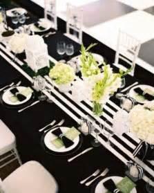 wedding tablecloth ideas 52 black and white wedding table settings weddingomania