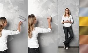 Effekt Wandfarbe Perlmutt : effektfarbe f r die wand glitteroptik sch ner wohnen ~ Heinz-duthel.com Haus und Dekorationen