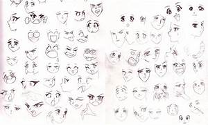 Anime faces by SparrowsHellcat on DeviantArt