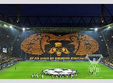 C1 Le magnifique Tifo de Dortmund face à Malaga