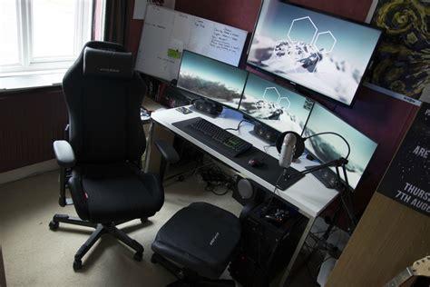 best ikea desk for gaming battle station gaming computer desk setup white desk ikea