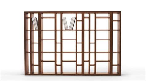 le librerie libreria modulare moderna bifacciale brick sololibrerie