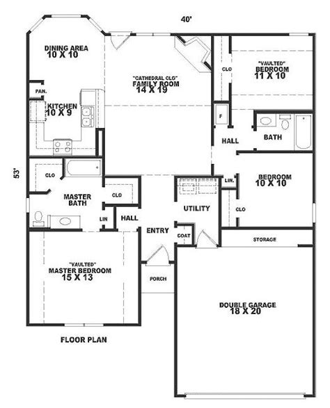 square foot house plan chp   coolhouseplans