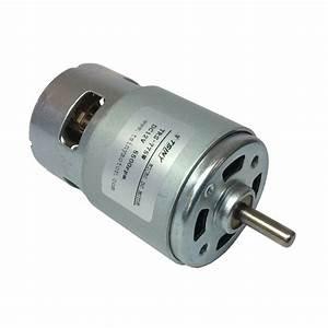 775 12v Dc 5500rpm Brush Motor Micro Carbon Brush Motor Dc