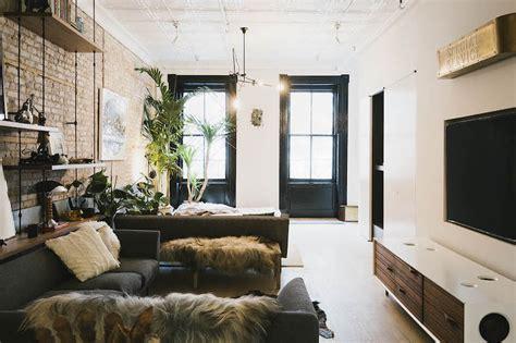 industrial interior style meets scandinavian simplicity