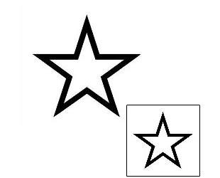 star tattoo design gjf  tattoojohnnycom
