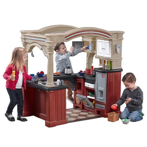grand walk  kitchen kids play kitchen step