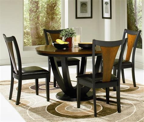circle dining table set round kitchen table set for 4 a complete design for small