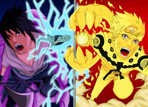 Naruto Vs Sasuke Final Battle By Salty-art On Deviantart