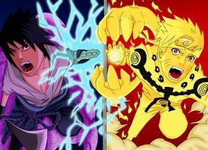 Naruto vs Sasuke final battle by Salty-art on DeviantArt