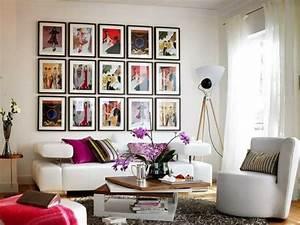 Wandgestaltung Mit Fotos : wandgestaltung und wanddeko ideen mit kunstvollen bildern ~ Frokenaadalensverden.com Haus und Dekorationen