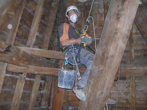 travaux acrobatiques sur clochers moretton travaux