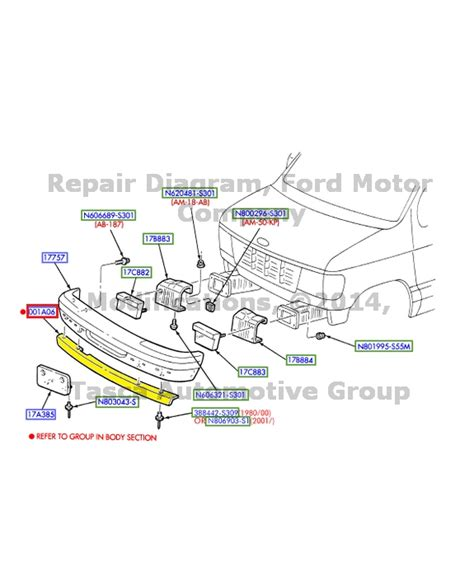 Ford E 250 Part Diagram by New Oem Front Bumper Air Deflector Spoiler Med Platinum