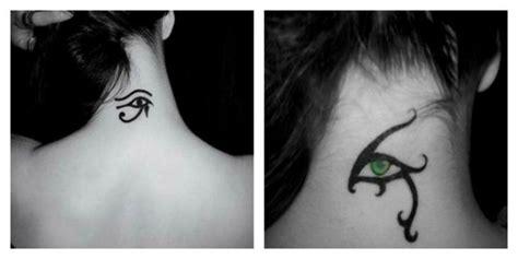 Tatouage Triangle Oeil Egyptien
