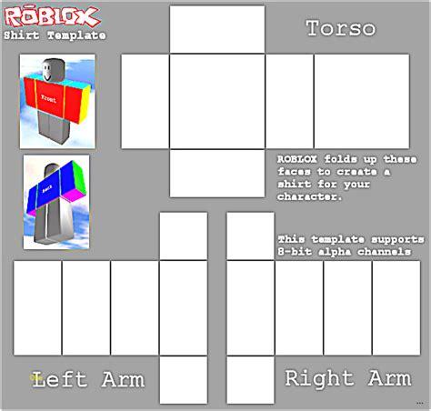 Roblox Shirt Template Roblox Shirt Template Maker Best Sle