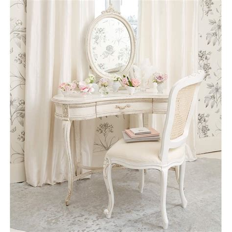 chaise coiffeuse delphine shabby chic dressing table bedroom company