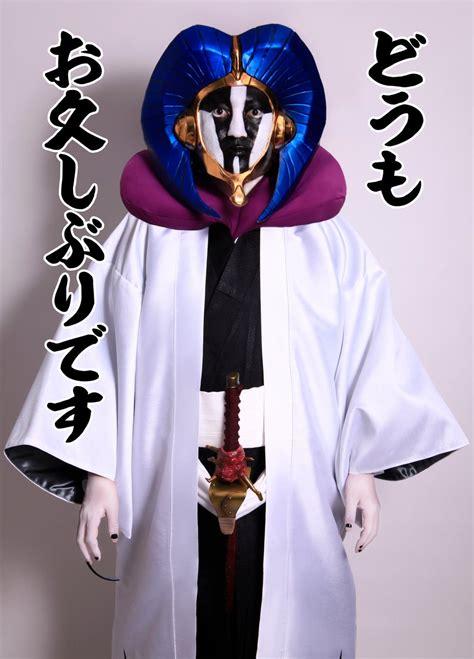 bleach creator tite kubo cosplays character mayuri