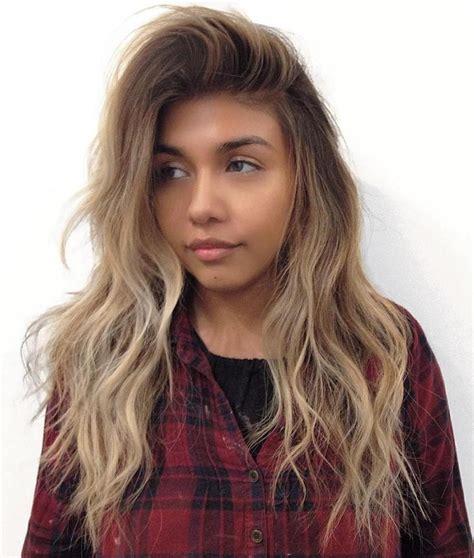 coupe cheveux ondulés id 233 es coupe cheveux pour femme 2017 2018 40 belles coupes de cheveux longs de shag pour des