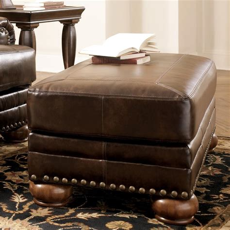 light brown leather ottoman light brown leather pouf ottoman for living room decor