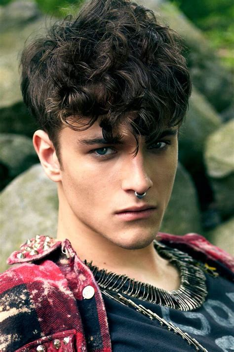 top 5 curly hairstyles for men hairstyles haircuts for